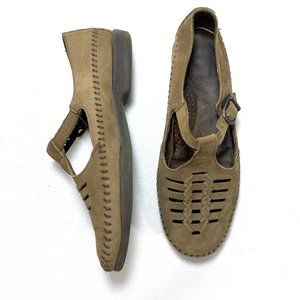 Dexter Leather Comfort Walking Shoe Sandal 9
